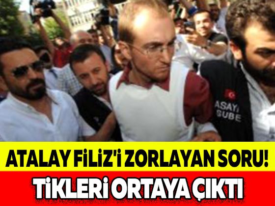 ATALAY FİLİZ'İ ZORLAYAN SORU! TİKLERİ ORTAYA ÇIKTI