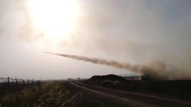 Türkiye'ye Atış Yapma Hazırlığındaki 17 IŞİD Hedefi İmha Edildi