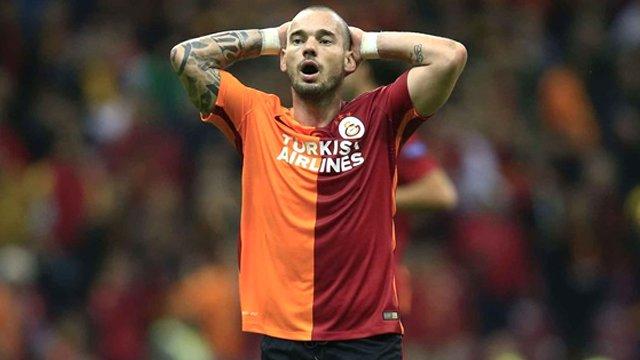 Sneijder boşuna patlamamış