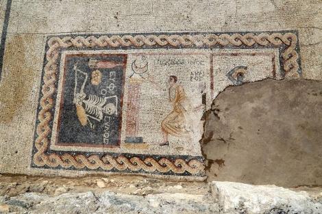 Kazıda Bulunan Mozaiğin Şifresi Resmen Çözüldü