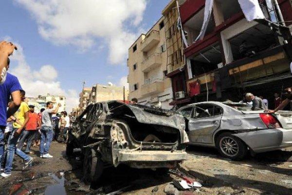 Libya'da Askere Bombalı Saldırı: 12 Ölü