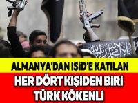 ALMANYA'DAN IŞİD'E KATILAN HER DÖRT KİŞİDEN BİRİ TÜRK KÖKENLİ