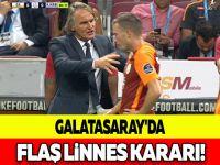 GALATASARAY'DA FLAŞ LİNNES KARARI!