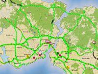 İstanbul'da trafik yoğunluğu yüzde 10'un altına düştü