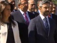 HDP'li Pervin Buldan İstiklal Marşı'nı okumadı