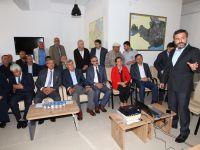 Başkanlar, Gebze'deki 2B arazileri  çalışmaları hakkında bilgi aldılar