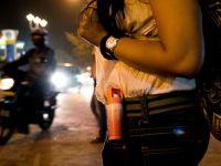 Biber gazı genç kızları kabustan kurtardı
