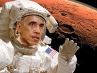 Obama: Mars'ta yaşam, özel şirketler ile inşa edilecek