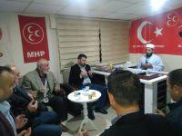 MHP AKSE SAPAĞI TEMSİLCİLİĞİ  ŞEHİTLER İÇİN KUR'AN-I KERİM OKUTTU