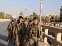 PKK'lı Teröristler Kerkük'e Girdi, Kerkük Gazetesi Fotoğraflarını Yayınladı