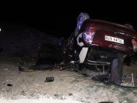 Tekirdağ'da feci kaza! 1 Ölü, 2 Yaralı