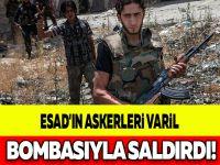ESAD'IN ASKERLERİ VARİL BOMBASIYLA SALDIRDI!