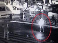 İstanbul'un göbeğinde yüzlerce kişiyi dehşete düşüren an