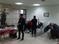 Öğrenciler, kan bağışı için yarıştı
