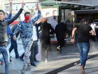 Protestoya Polis Müdahale Etti