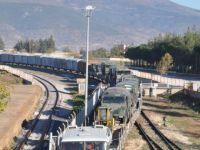 Maltepe'den sınıra askeri sevkiyat