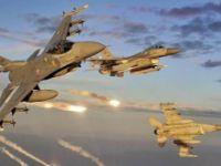 Türk jetleri, IŞİD'in 12 hedefini yerle bir etti