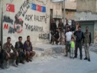 Halep'te Türkmen mahallerinde kirli oyun