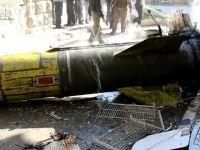 Halep'te patlamayan füzeyi soğutmaya çalıştılar