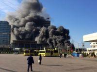 Bursa'da Büyük Yangın! 1 Kişi Öldü, Metro Seferleri Durduruldu
