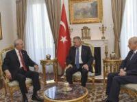 Çankaya'da Terör Zirvesi! Başbakan, Kılıçdaroğlu ve Bahçeli'yle Görüşecek