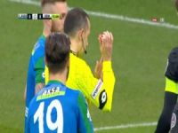 Kaleci eliyle dokundu, Cüneyt Çakır penaltı verdi