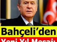 MHP Lideri Bahçeli'den Yeni Yıl mesajı