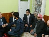 Cumhurbaşkanı Erdoğan şehit polisin ailesini ziyaret etti