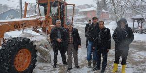 Toltar, kar ekibiyle yollarda