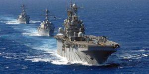 ABD donanması, İran gemilerine ateş açtı