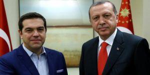 Cumhurbaşkanı Erdoğan, Yunanistan Başbakanı Çipras'la Kıbrıs'ı Görüştü!