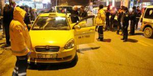 Ankara'da gece yarısı hareketli saatler! Taksiyi taradılar