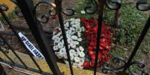 Şehit Cenazesinde CHP Çelengini İstemediler ve Yere Attılar