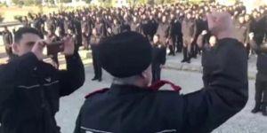 Cerablus polisinden ses getiren Erdoğan ve Türkiye sloganları