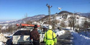 Elektrik arızalarını artık 'drone'lar tamir edecek