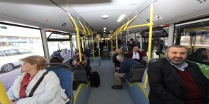 Ulaşımpark A.Ş, otobüsleri gizli yolcu ile denetliyor