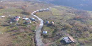 Büyükşehir, köy yollarını beton yol haline getiriyor