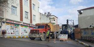 İki sokak daha doğalgaza kavuştu