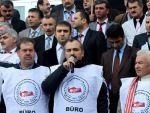 Büro Memur-Sen'in Ankara yürüyüşü devam ediyor