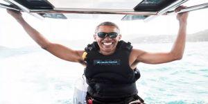 Obama Manhattan'da alkışlarla karşılandı