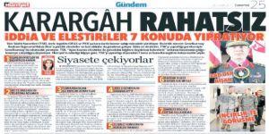 Hürriyet gazetesinin manşetine soruşturma!