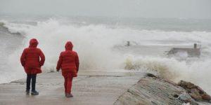 Meteoroloji 2 bölge için fırtına uyarısı yaptı