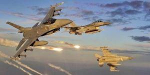 Kuzey Irak'ta 3 PKK hedefi bombalandı