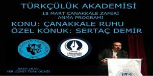 Sertaç Demir İzmit Türk Ocağı'na geliyor