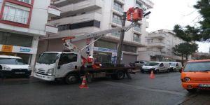 Gebze'de Aydınlatma Çalışmaları Hızla Sürüyor