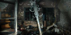 Ailesiyle tartıştı evi yaktı