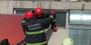 Gebze'de Asılsız ihbar itfaiye ve sağlık ekiplerini harekete geçirdi