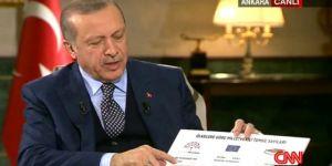 Cumhurbaşkanı Erdoğan'dan Canlı Yayında Referandum Tahmini