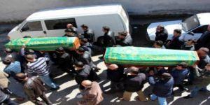Libya'da batan gemide ölen iki kardeş toprağa verildi