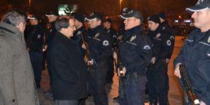 Bin 150 polis gece yarısı 'acil' koduyla göreve çağrıldı!